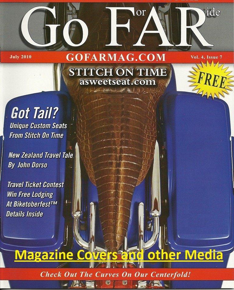 Magazine Covers Articles and other Media