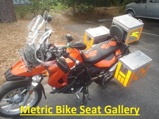 Metric Bike Seats